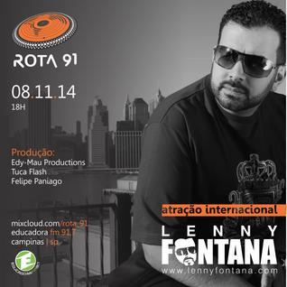 Rota 91 - 08/11/14 - Educadora FM