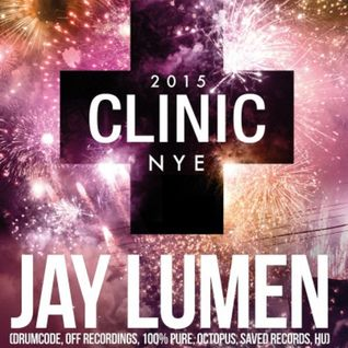 Jay Lumen - Live @ Club Venue Helsinki Finland (Aftherapy NYE morning by Clinic) - 01.01.2015