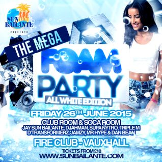 Dj Djahman - The Mega Foam Party Soca 2k mix.
