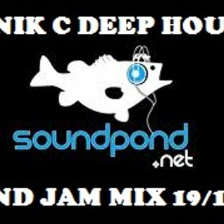 DJ Nik C Deep House Pond Jam Mix/ www.soundpond.net 19/12/11