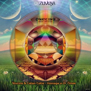 "Alucine & Catan Cotie (ChillSet) - ""Homage A Dr. Times"" (Cymatic Stage @ Zuvuya Festival 2014)"