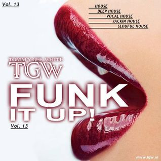 Tommy Gee White - Funk It Up! Vol. 13