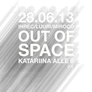 Miroco live @ out of space 28june2013