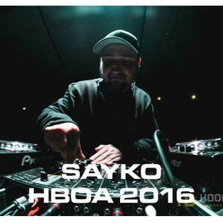 Sayko - HBOA 2016