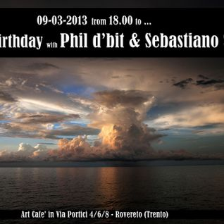 09-03-2013 Phil d'bit & Sebastiano Sedda @ ART CAFE' (rovereto)
