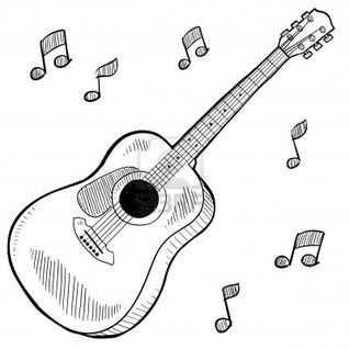 An der Gitarre - by Mori