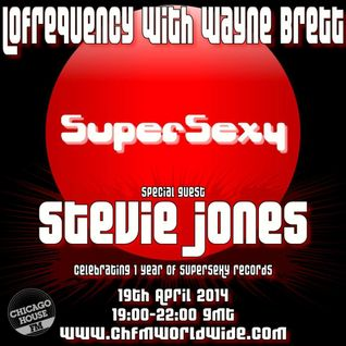 Lofrequency with Wayne Brett 19-04-14. Stevie Jones guest mix