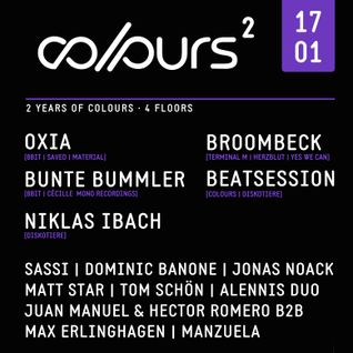 Dominic Banone @ COLOURS 17.01.2015 (Tanzhaus West, Frankfurt)