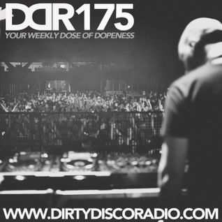 Dirty Disco Radio 175, Selected, Hosted by Kono Vidovic, Guest-mix by DJ Stefano.