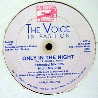 The Voice In fashion - Only In the Night - Axel V Supa Edit