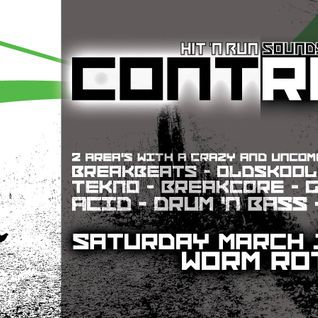 Stefan ZMK @ Hit 'n Run - Contrast #1 - Worm Rotterdam 2014 [broken|core|idm]