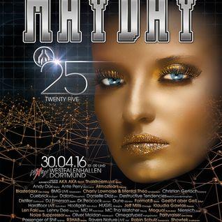 Showtek - Live @ Mayday, Twenty Five (Dortmund, Germany) - 30.04.2016