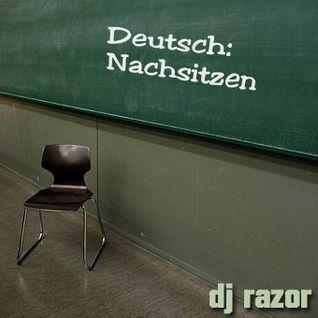 DJ RazoR - Deutsch Nachsitzen (2012)