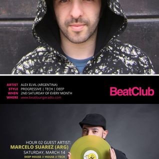 BeatClub By Alex ElVíl (Guest Mix Marcelo Suarez) @ BeatLounge Radio (#44)