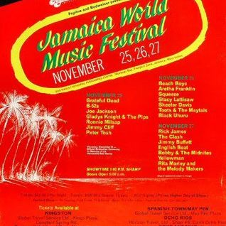 The Wailers - Jamaica World Music Festival 11-25-1982 Soundboard Master