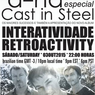 Retroactivity Radio - Interatividade Retroactivity special A-HA 03OUT2015