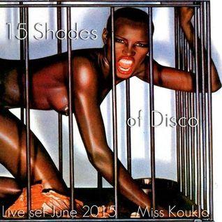**** 15 SHADES of DISCO (live set) ****