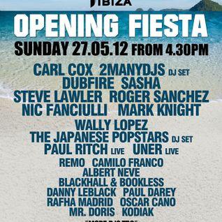 Dubfire @ Space Opening - Ibiza 27-05-2012