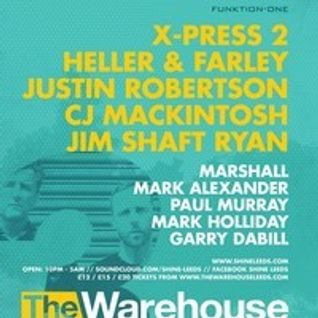 Heller & Farley - SHINE 3rd Birthday @ The Warehouse - Leeds 01-11-2014