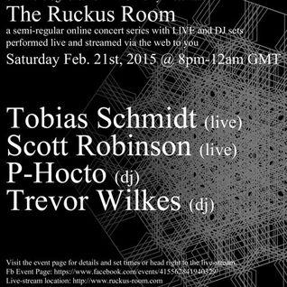Trevor Wilkes - The Ruckus Room 21/02/2015