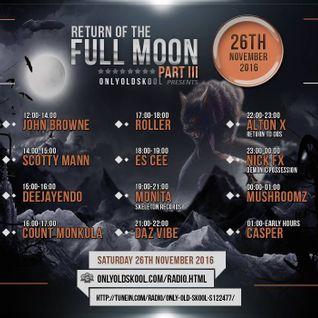 DJ Monita - OnlyOldSkool 93 Set (Nov 2016)
