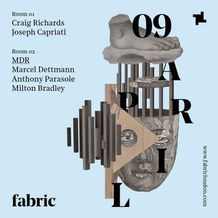 Joseph Capriati - Live @ Fabric Club (London, Uk) - 09.04.2016