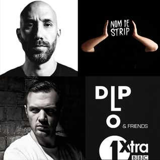 Diplo and Friends on BBC Radio 1Xtra feat TJR and Chris Lake with Nom De Strip  09/15/13