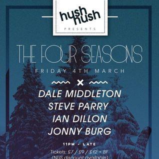 Ian Dillon Live Hush Hush Mint Club Leeds wih Dale Middleton, Steve Parry & Jonny Burg 04/03/2016