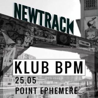 CEY @ KlubBPM #1 by Newtrack, Point Éphémère, Paris, 250513