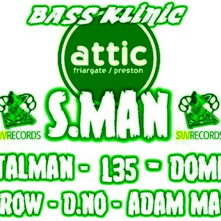 Adam Mac - Bass Klinic Promo Mix PART 2 - Juke, Bass, Jungle and Footwork