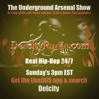 The Underground Arsenal Show 12-13-15