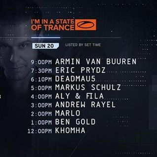 Eric Prydz - Live @ A State Of Trance Special, UMF 2016 (Miami) - 20.03.2016
