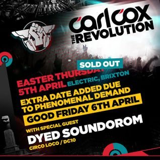Dyed Soundorom Live @ The Revolution,Electric Brixton (UK) (05.04.12)
