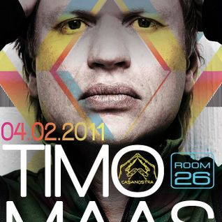 Timo Maas - Live at Casanostra, Room 26, Rome, Italy (04-02-2011)