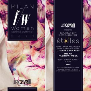 JUST CAVALLI MILAN presents ETOILES (Uptown Urban Mix)