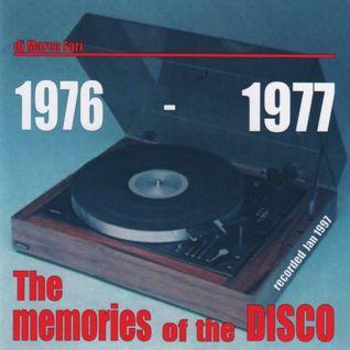 1976 - 1977 : The memories of the DISCO - dj Marco Farì - (dj set)