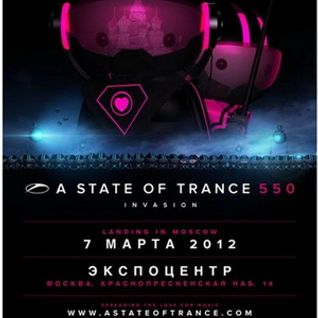Ruben de Ronde - Live @ A State of Trance  550 (Moscow, Russia) - 07.03.2012 - www.LiveSets.at