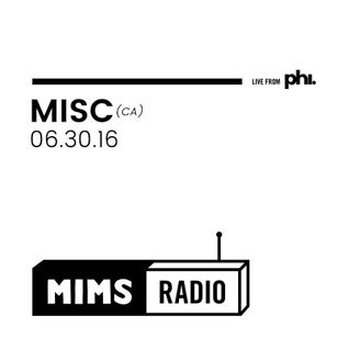 MIMS Radio Session (06.30.16) - Discussion with jazz-trio MISC (CA)