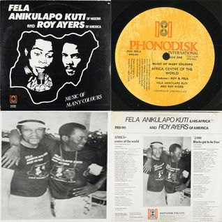 Fela Anikulapo Kuti and Roy Ayers ‎– Music Of Many Colours