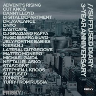 FRISKY   Suffused Diary 3-Year anniversary - Stas Drive