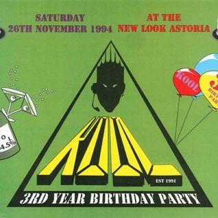 Ron B2B SL Kool FM 3rd Birthday 26th November 1994 Side 1