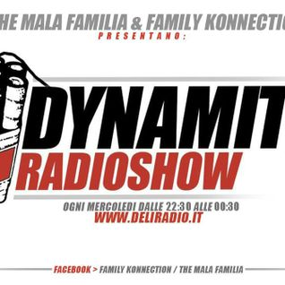 DYNAMITE radio show ospiti || QUADRARO MASSIVE & BLOODY BABYLON || WWW.DELIRADIO.IT