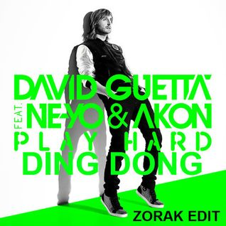 GEORGE ACOSTA DAVID GUETTA FT AKON - PLAY HARD THE DING DONG ZORAK MASHUP 2013 REWORK