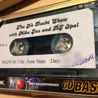 The No Doubt Show with The Mayor @mikejax and @djopal WKPS 90.7 FM State College 12/7/2001