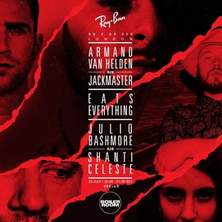 Armand Van Helden B2B Jackmaster - live at Ray-Ban x Boiler Room 009, London - 23-Jul-2015