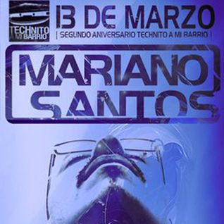 Mariano Santos @ Exclusive set for Technito on Usessions.gr