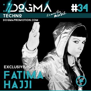 Fatima Hajji - Techno Live Set // Dogma Techno Podcast [April 2015]
