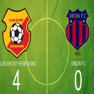 17/2/12 - Herediano vs Orion