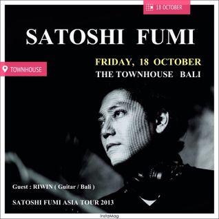 SATOSHI FUMI ASIA TOUR 2013 at TOWNHOUSE BALI