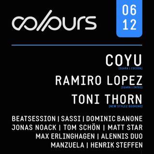 Dominic Banone @ COLOURS 06.12.2014 (Tanzhaus West, Frankfurt)